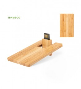 MEMORIA USB BAMBOO CARD 16GB